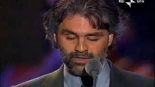 getlinkyoutube.com-Pavarotti & Friends Andrea Bocelli - En Aranjuez Con Tu Amor 2003-05-27