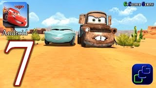 getlinkyoutube.com-Cars: Fast as Lightning Android Walkthrough - Part 7 - Mater Race Track