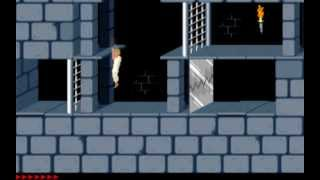 getlinkyoutube.com-Prince of Persia (1989) MS-DOS PC Game Playthrough