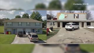 Observe el antes y después del tornado en Oak Grove, Missouri