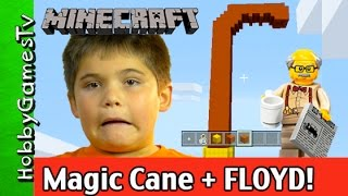 getlinkyoutube.com-Minecraft Build, Lego Floyd Makes His Cane! by HobbyGamesTV