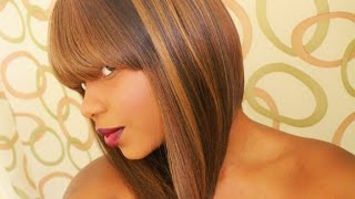 getlinkyoutube.com-Nicki Minaj Bob: Vivica A. Fox YEVA Wig