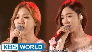 getlinkyoutube.com-Tiffany & Wendy - Dear Mom [2015 KBS Song Festival / 2016.01.23]