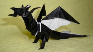 getlinkyoutube.com-Origami Fiery Dragon instructions ( Kade Chan)