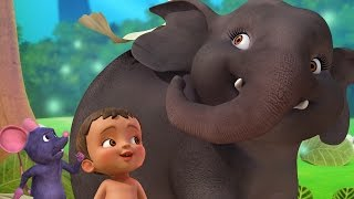 Hathi Raja | Hindi Rhymes & Baby Songs for Children | Infobells