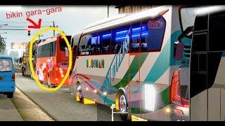 Bus Budiman : Best in Class Emosi gara-gara Bus Merah ini Rem Mendadak