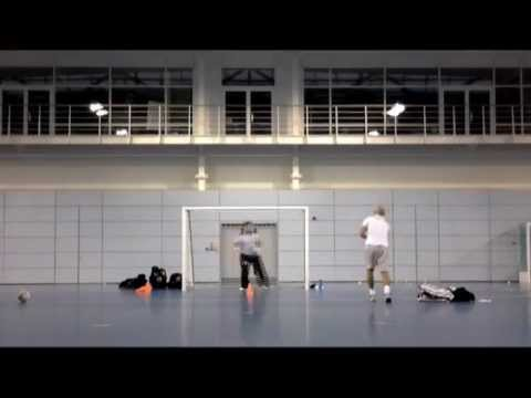 Futsal Goalkeeper Training - Andy Reading - December 2012 / January 2013