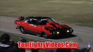 Bryant Goldstone 1973 AMC Javelin Racing at Car Craft Midnight Drags
