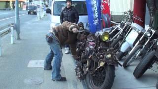 getlinkyoutube.com-調子のいいバイクは手でもかかる