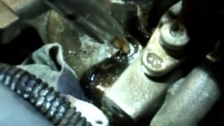getlinkyoutube.com-Extracción calentador roto Renault 1 9 dci F9Q