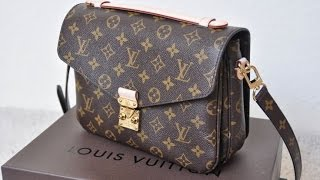 getlinkyoutube.com-What's in my Louis Vuitton Pochette Metis + Review