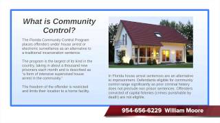 Community Control Lecture