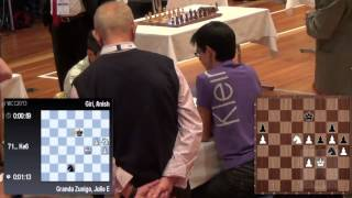 getlinkyoutube.com-GM Julio Granda vs GM Anish Giri Round 3 Tiebreak  2013