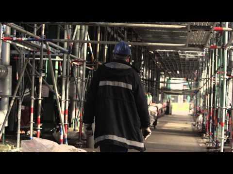 OMV Raffinerie Burghausen - Shut Down 2014: Bernhard Arnold nimmt uns mit zur Fackelanlage