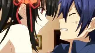 getlinkyoutube.com-Kurumi Teasing Shido At Miku's House - Date A Live ll