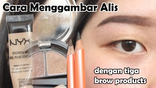 getlinkyoutube.com-Cara Menggambar Alis (Pensil, Powder, Gel Eyebrow)
