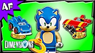 getlinkyoutube.com-Lego Dimensions SONIC the Hedgehog Level Pack 71244 Stop Motion Build Review