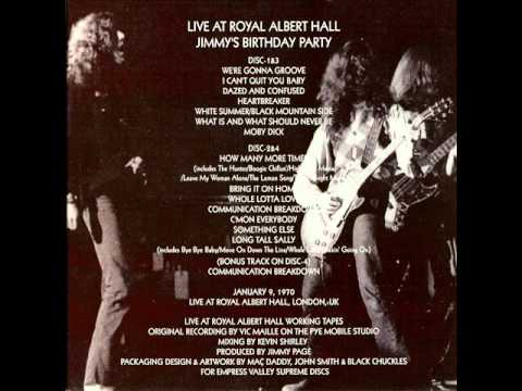 C'mon Everybody - Led Zeppelin (live London 1970-01-09)