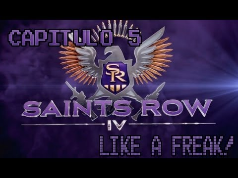 La exibicionista! Saints Row IV - capitulo 5 Like a freak!