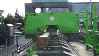 getlinkyoutube.com-MEBOR'S New, Fastest BAND SAW for logs HTZ 1300 PLUS, Single  & DOUBLE cutting