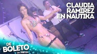 getlinkyoutube.com-Claudia Ramirez en Discoteca Nautika - De Boleto