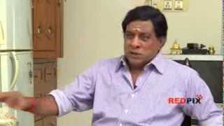 getlinkyoutube.com-Singamuthu talks about his fight with Vadivelu -- Friendship with Santhanam -- PART I -- Red Pix