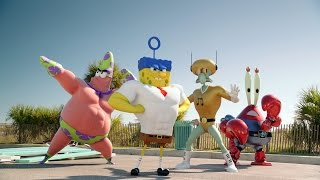 THE SPONGEBOB SQUAREPANTS MOVIE: SPONGE OUT OF WATER | Official Teaser Trailer | UK | Paramount width=
