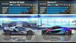 getlinkyoutube.com-ASPHALT 8 AIRBORNE: McLaren 12C Spider vs. McLaren P1