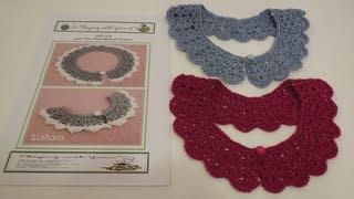 getlinkyoutube.com-Crochet Collar كروشيه كولة
