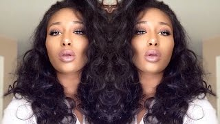 getlinkyoutube.com-360 Lace Frontal?!? |Lavy Hair Peruvian Body Wave