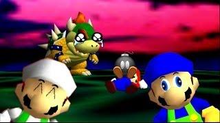 getlinkyoutube.com-Luigi da Web SM64 Bloopers BR 15# A Morte do Mario!!!!