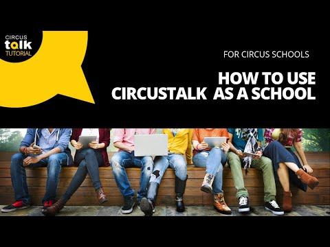How to Use CircusTalk as an Individual Circus Professional
