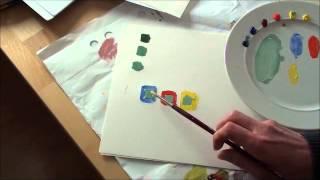 getlinkyoutube.com-Farben richtig mischen (2/2) - Praktische Übungen