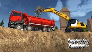 getlinkyoutube.com-Construction Simulator 2014 Android GamePlay Trailer (HD) [Game For Kids]