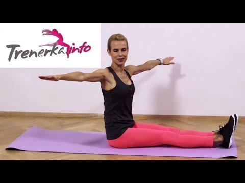 Trening wzmacniająco - odchudzający cz.III (6x10) - Pilates dla każdego, zdrowy kręgosłup