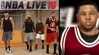 getlinkyoutube.com-NBA LIVE 16 Pro-Am Live Run Gameplay - The Game Winning Shot!