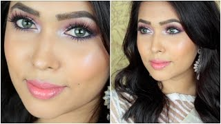 Bangladeshi/Indian Wedding Makeup Tutorial | Summer Daytime Special width=