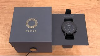 getlinkyoutube.com-Vector Smartwatch Unboxing and Impressions