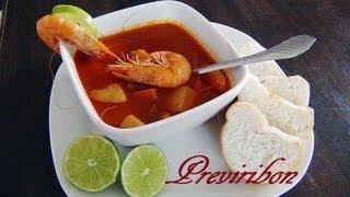 getlinkyoutube.com-Caldo de Camaron (receta) / How to make shrimp broth  * video 138 *
