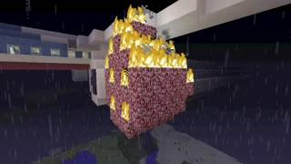 getlinkyoutube.com-Minecraft Plane Crash Flight 180 (Final Destination 5 Ending)