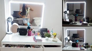 getlinkyoutube.com-DIY Faça Você Mesma | Espelho Camarim com Led - Por Jéssica Freitas