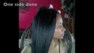 getlinkyoutube.com-Straight Hair Crochet Braids