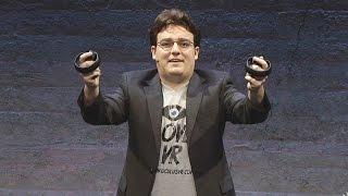 getlinkyoutube.com-Oculus Touch Revealed! - Oculus Rift E3 2015 Press Conference