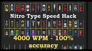 getlinkyoutube.com-Nitro type speed hack-4000 wpm & 100% accuracy- NitroTyper 2.1 *Patched
