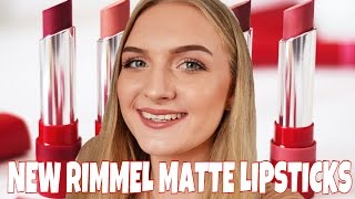 getlinkyoutube.com-Rimmel Only 1 Matte Lipstick First Impressions & Swatches | Amy Louise