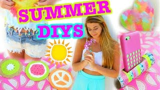 getlinkyoutube.com-Easy SUMMER DIYS You NEED to Try!