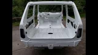Fiat panda 4x4 restoration photo album 1