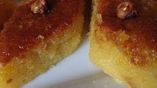 getlinkyoutube.com-Basbousa-ramadan special - البسبوسة بالبرتقال رااائعة -Basbousa facile a faire