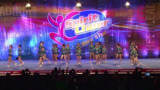 getlinkyoutube.com-Jersey All Stars  Emeralds 2016 Spirit Cheer