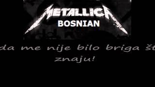 getlinkyoutube.com-Metallica - Nothing Else Matters / prijevod na bosanski jezik HD